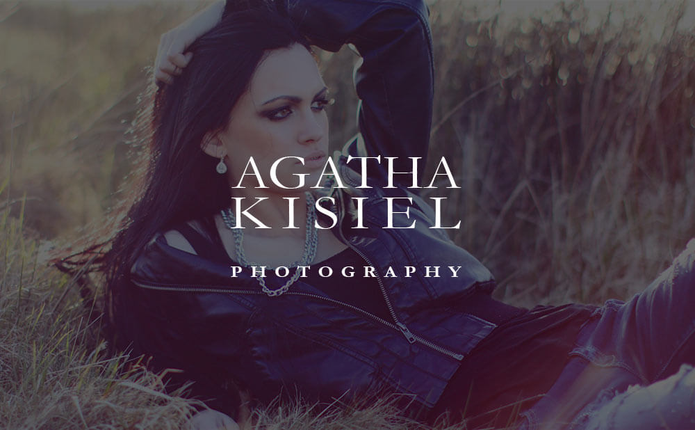 design of a wordpress website for Agatha Kisiel Photographer from Northern Ireland