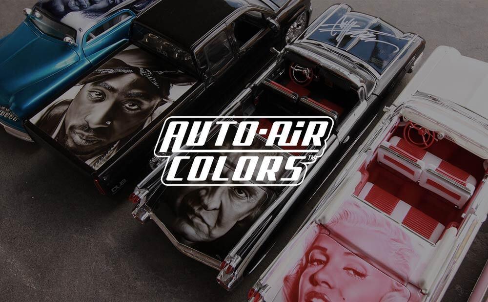 custom web design and development - Auto-Air Colors. USA. Airbrush Paints.