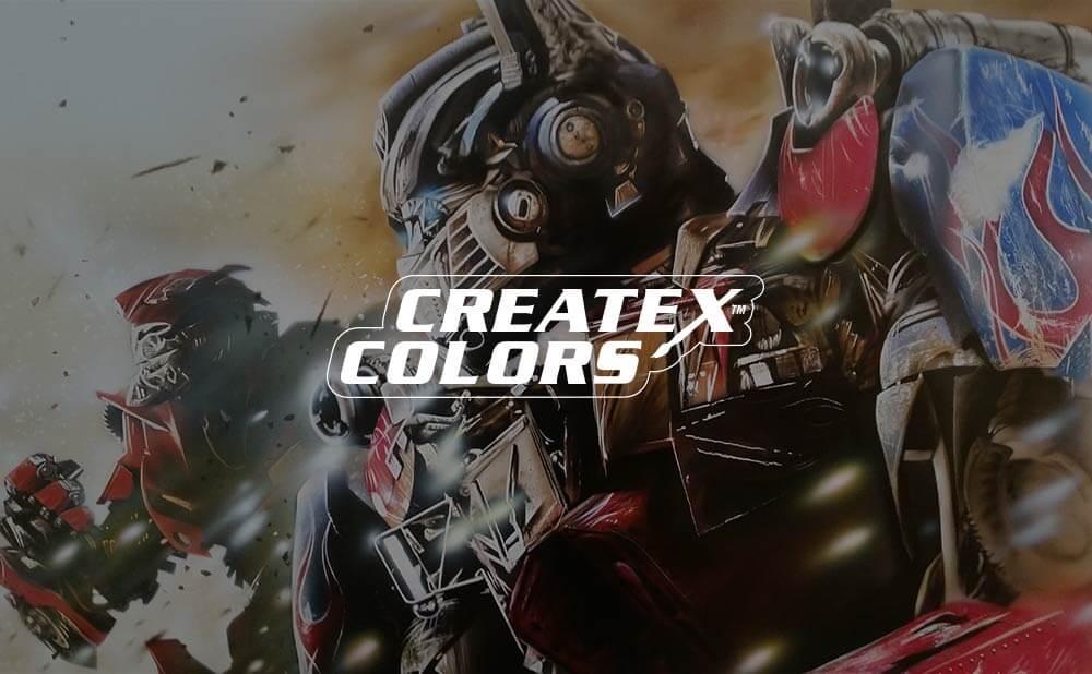 Custom website design and development - Createx Colors USA