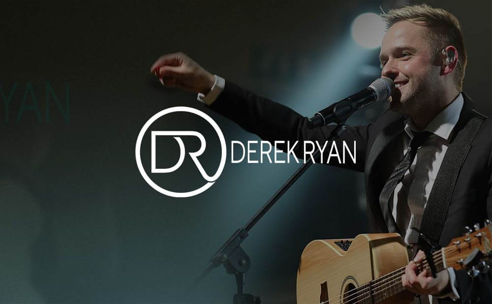 eCommerce wordpress website design and development - Derek Ryan Music