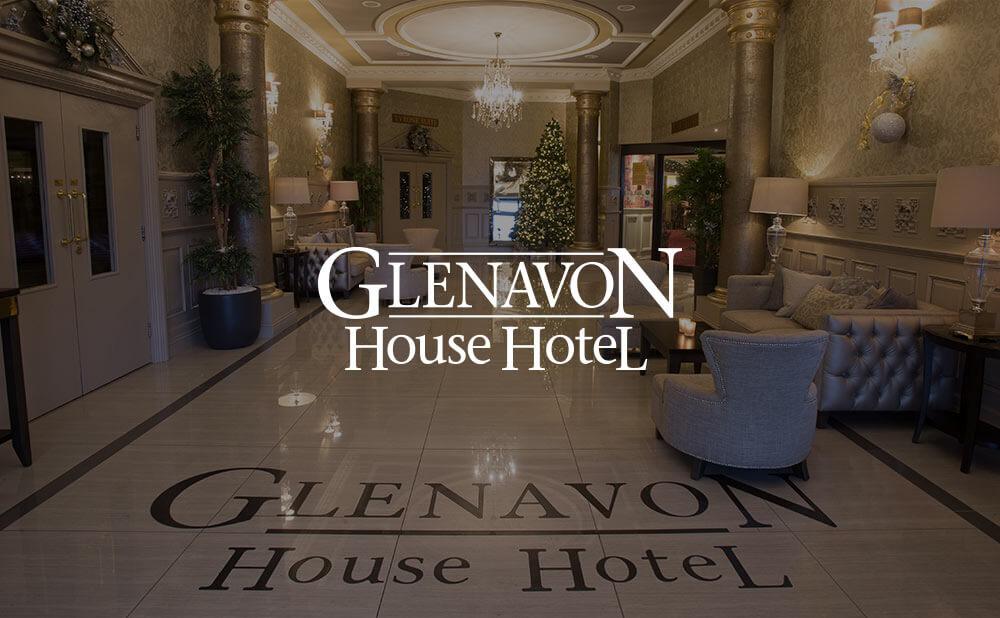 wordpress based website design and development for Glenavon House Hotel Cookstown