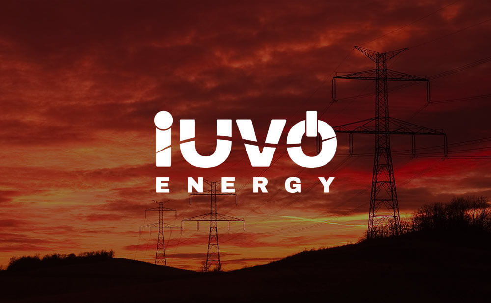 Branding, logo design, website design and development - iuvo energy