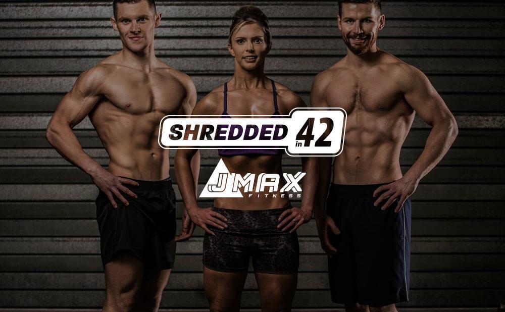 Logos design, branding, web design and development, eMarketing support - J MAX Fitness and shredded in 42