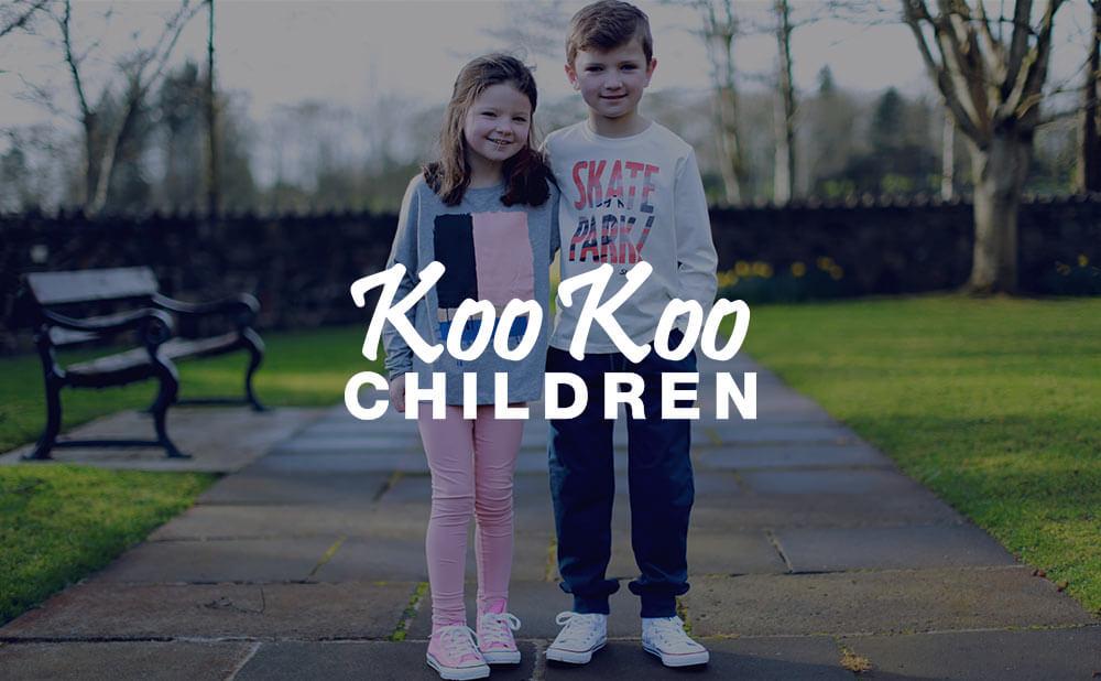 eCommerce wordpress website and commercial photography - Koo Koo Children Northern Ireland