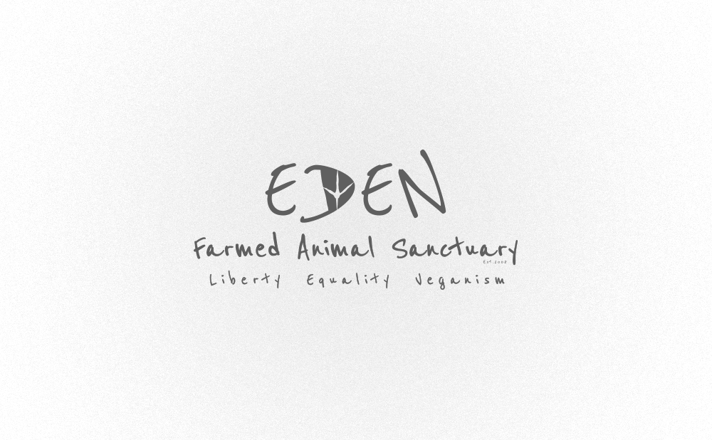 logo design eden farmed animal-sanctuary