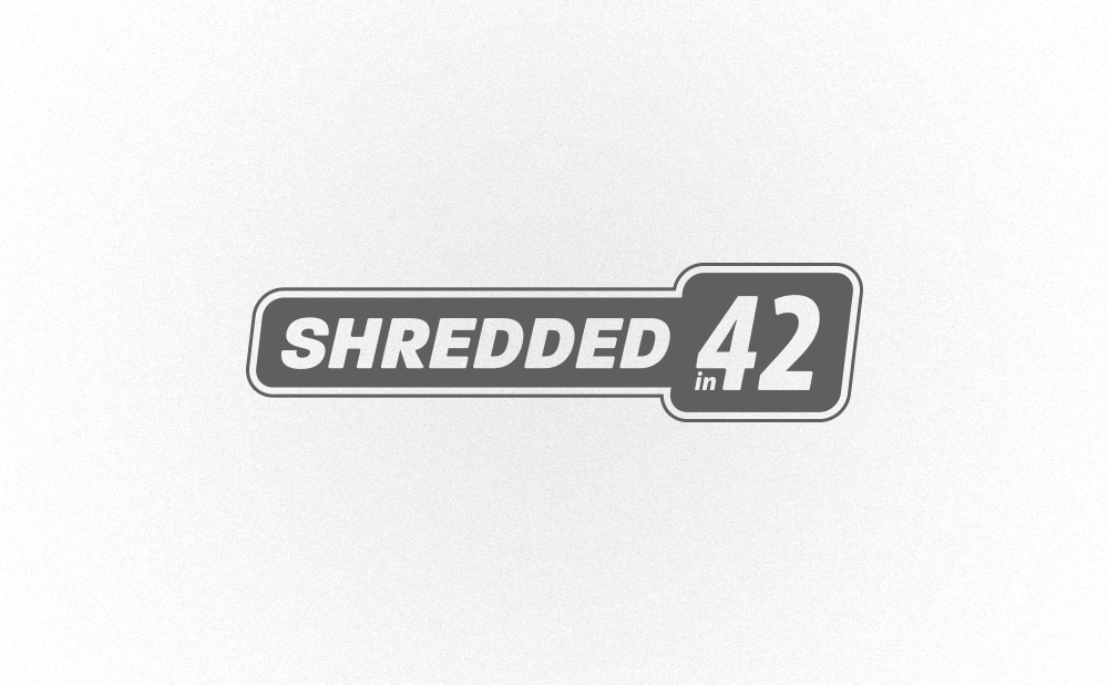logo design shredded in 42
