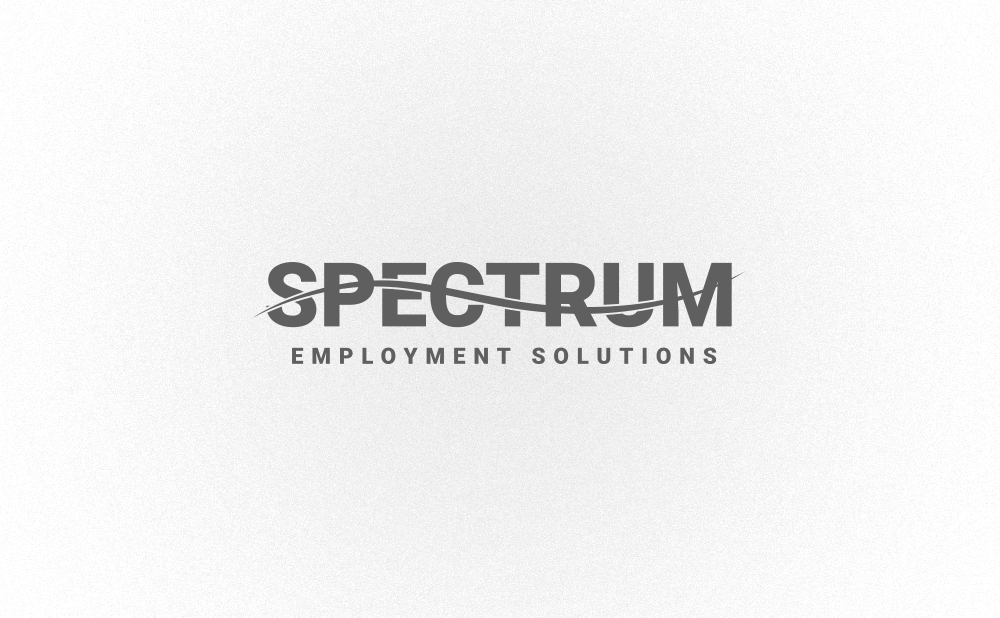 logo design spectrum employment solutions
