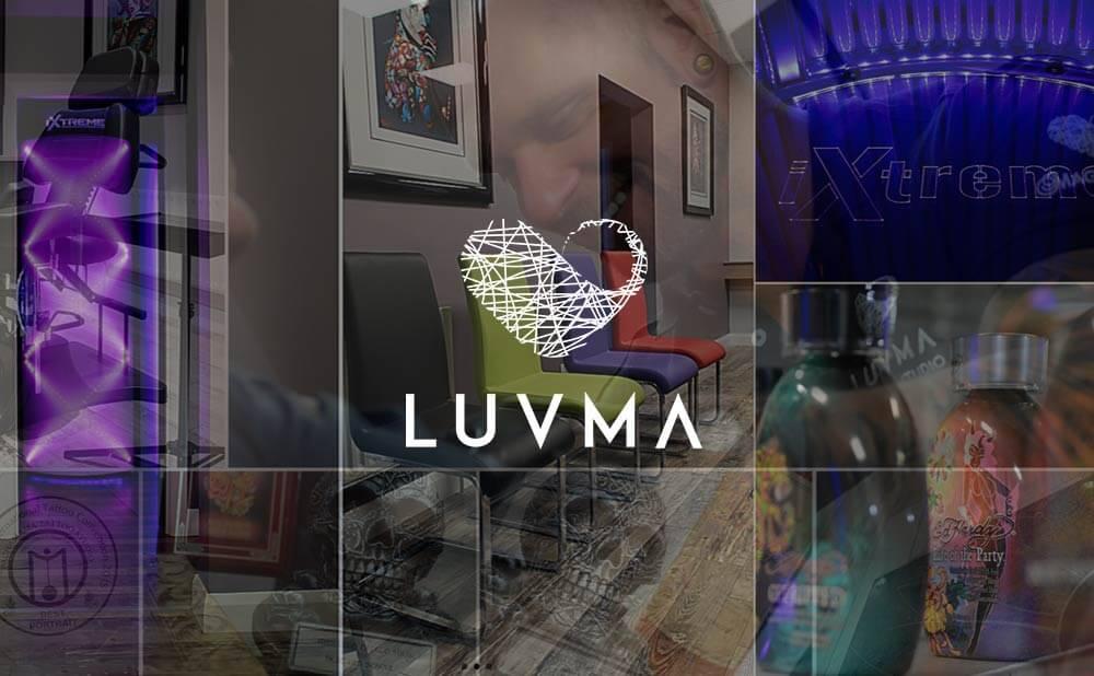 wordpress web design and development - Luvma Tattoo Studio, Laser Clinic and beauty in Cookstown