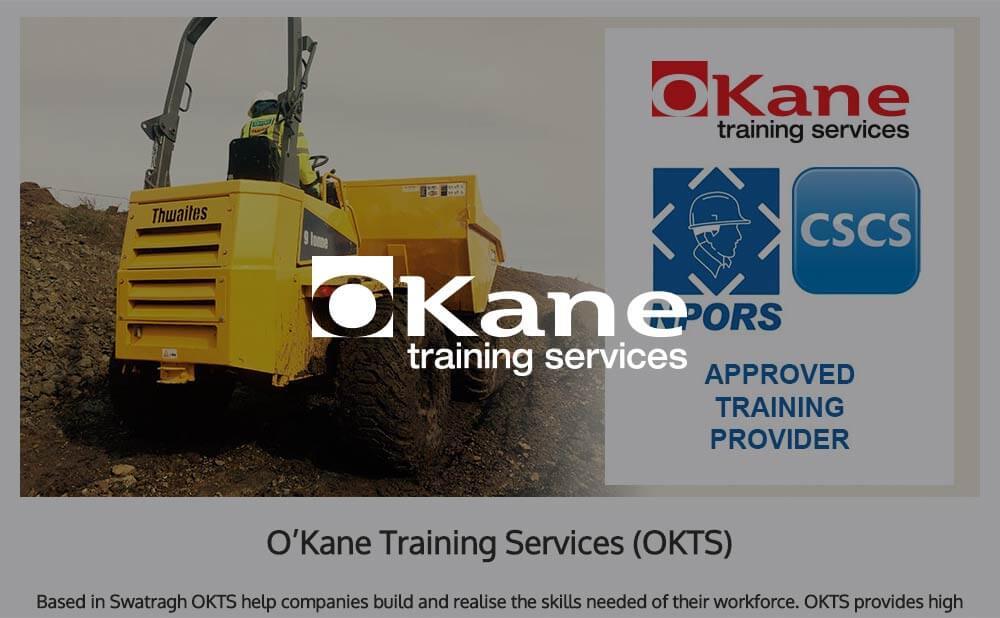 Wordpress website design and development - OKane Training Services