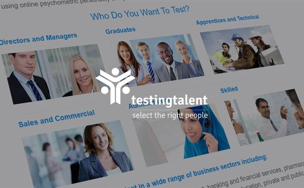 wordpress web design and development - Testing Talent