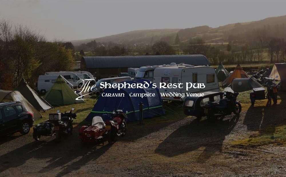 wordpress web design and development - The Shepherds Rest Pub, Wedding Venue, Campsite NI