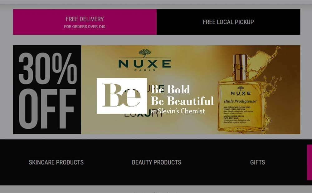 wordpress web design and development - Beauty By Be