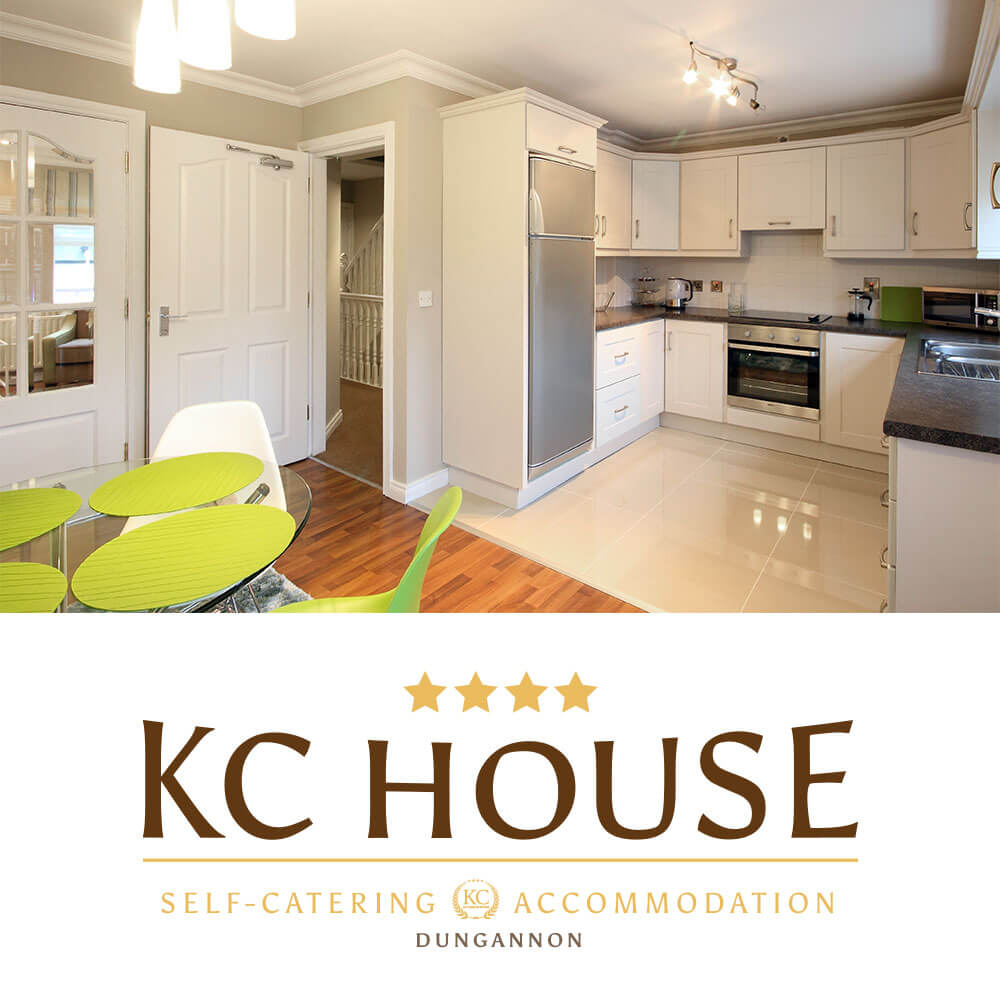 KC House - a self-catering house in Dungannon, Northern Ireland