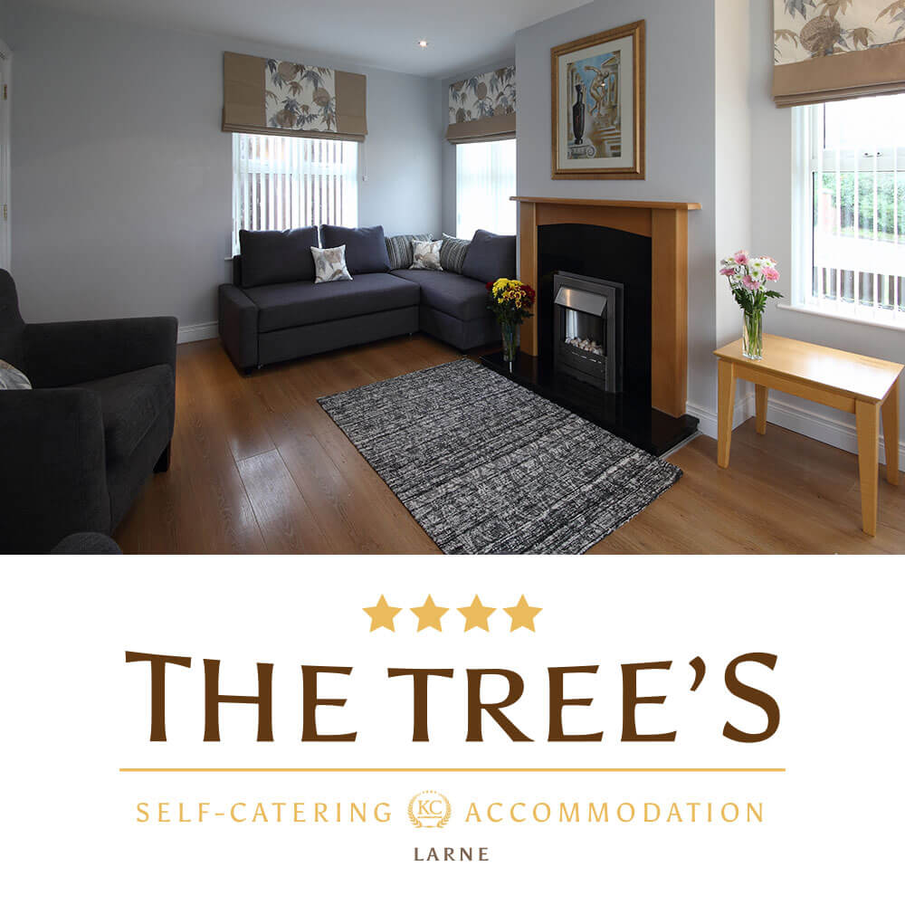 Holiday Rental NI. The Tree's - Your Causeway Coastal Drive Starts Here!