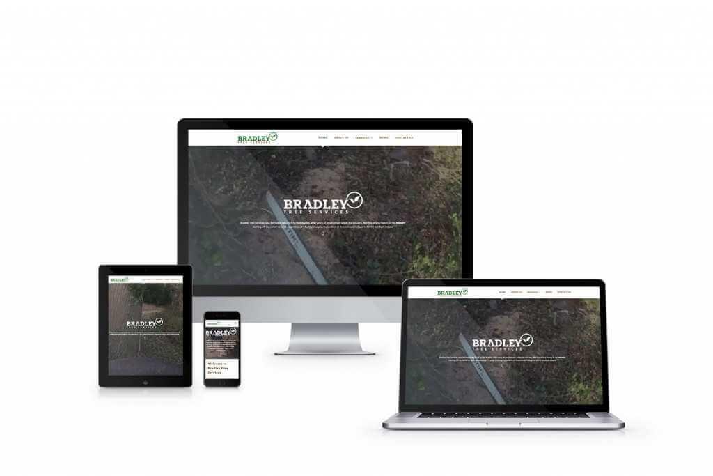 web design bradley tree services Northern Ireland