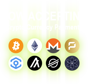 now accepting crypto currency payments